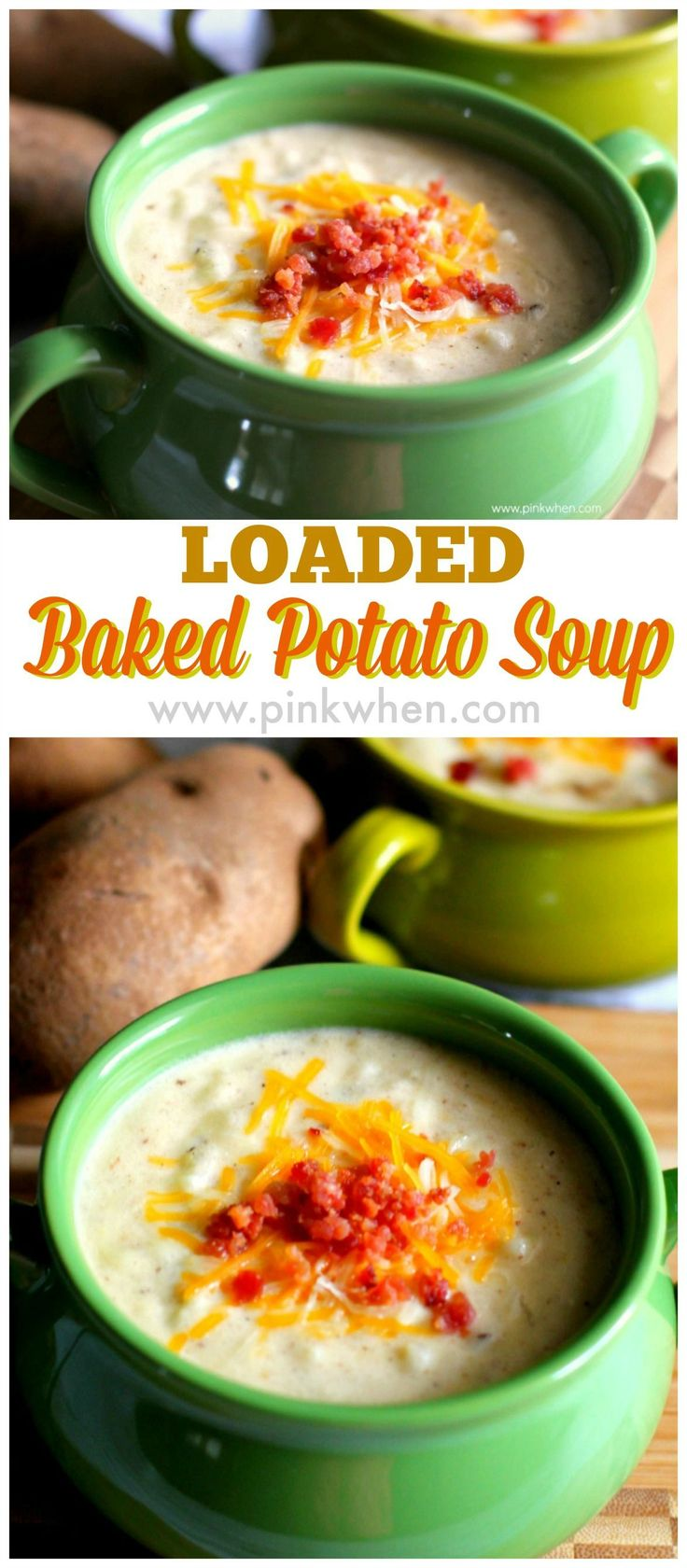 One of my all time favorites! Loaded baked potato soup. YUM!