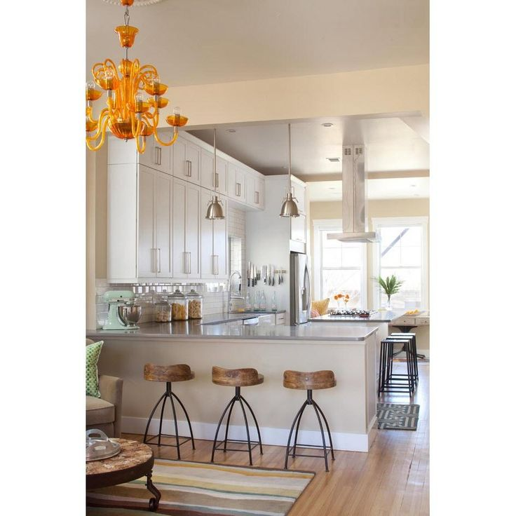 Kitchen Peninsula Banquette: Arteriors Henson Wood Iron Swivel Bar And Counter Stool
