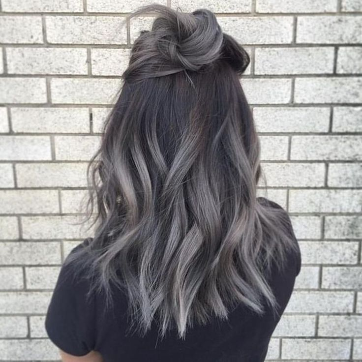 42 Fashionable Winter Hair Color Ideas Coiffure Gris