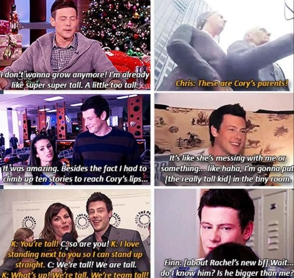 Cory and his height