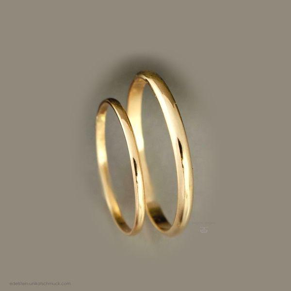 Goldene Eheringe / Partnerringe