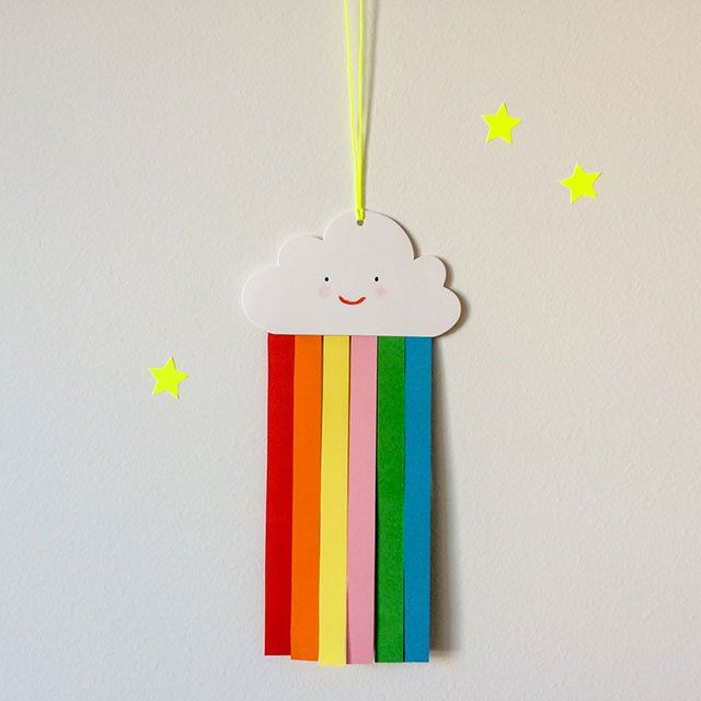 arts and crafts gift ideas rainbow gift tags by make penpals 5897