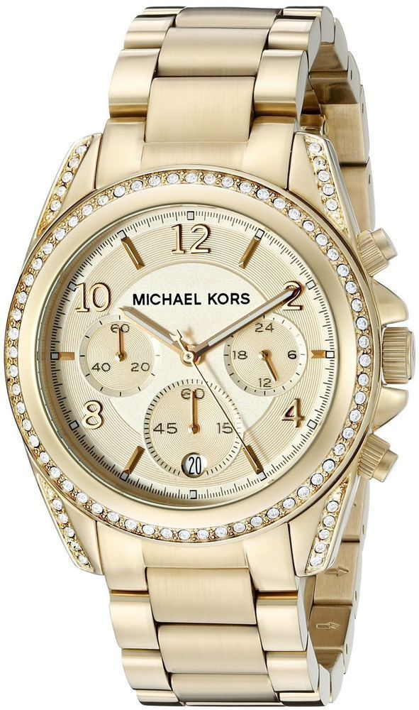 49182aab68ca Michael Kors Women s Blair Gold-Tone Stainless Steel Bracelet Watch 39mm  MK5166  MichaelKors  Casual