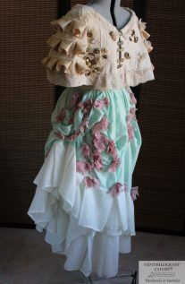 Shipwrecked Capelet & Bustle Skirt by VENTRILOQUIST COURT®