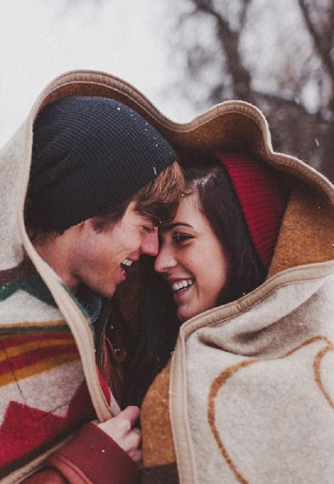 15 Reasons Why Winter Engagement Photos Are The Best ,  Marissa Koons