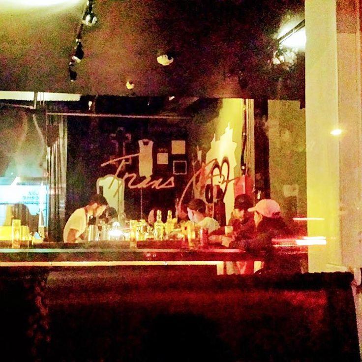 OUTSIDE LOOKIN IN  #transamrestaurant#vancity #porttownhoochslinger #burger#tomahawksteak  #cocktails#instagood#foodporn  #gin#rye#bourbon#bartender #chef#eastvan#hiddenspot