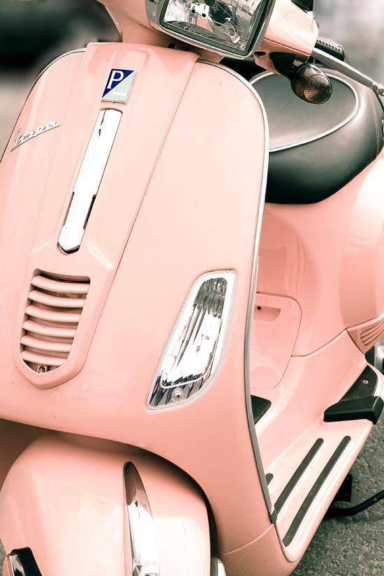 #vespa #pink