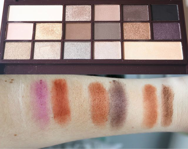 Beauty Dupes: Makeup Revolution I Heart Makeup vs Too Faced Chocolate Bar Palettes – shanylou