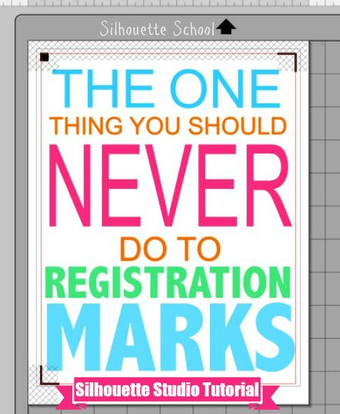 The One Thing Guaranteed to Cause a Print and Cut Registration Failure