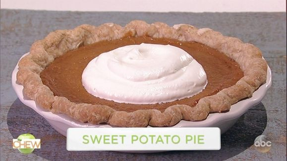Mario Batalli Best Sweet Potato Pie Recipe | The Chew - ABC.com