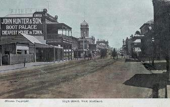 High St in West Maitland (year unknown).A♥W