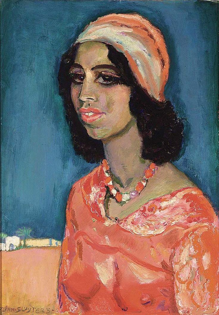 Jan Sluijters - Egyptische vrouw (1925)