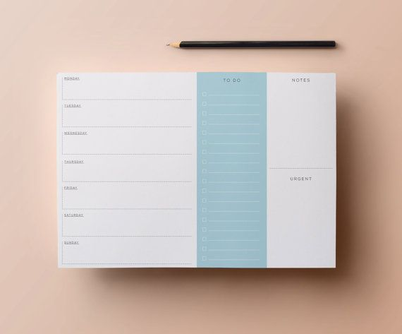 Get organised in style with this nostalgic retro daily planner. This stylish printable will help keep you on track throughout the week with