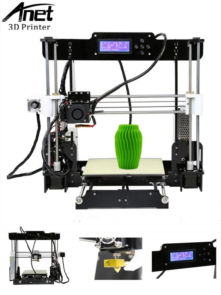 [Visit to Buy] ANET A8 3D Printer Prusa i3 High Quality Easy Assembly DIY 3D printer kit High Precision Very Cheap 3D printers Send From Moscow #Advertisement
