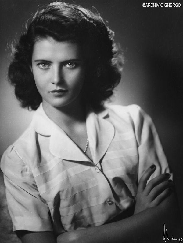 Arturo Ghergo - Domitilla Ruspoli Salviati - 1945 circa, Rome