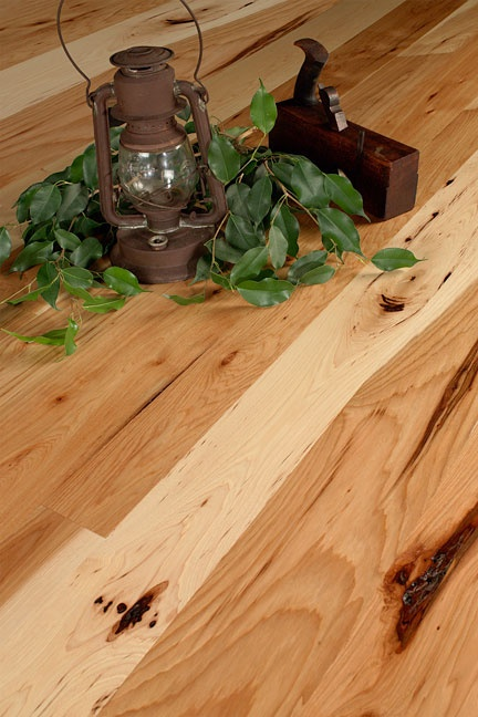Character Hickory Hardwood Flooring...hmmm hickory or wormy chestnut?