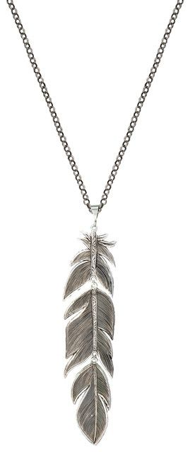 (MSNC1948RTS) Western Giant Thunderbird Feather Necklace
