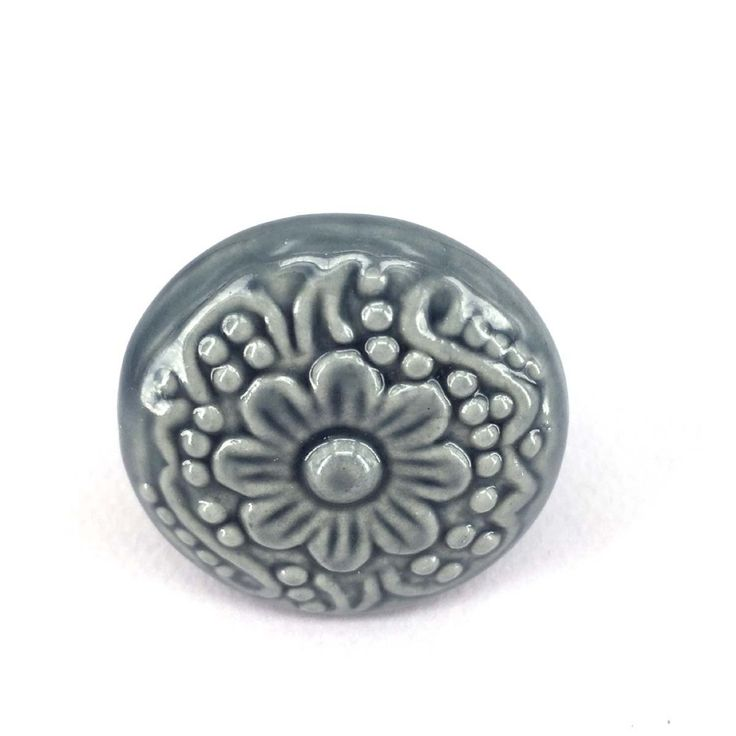 Flower Engraved Ceramic Knobs Kitchen Cupboard Wardrobe Dresser Drawer Handle Pulls Dia 44mm-in Cabinet Pulls from Home Improvement on Aliexpress.com | Alibaba Group