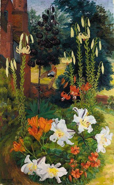 cedric morris flowers | Black Lilies -SIR CEDRIC MORRIS 1889-1982 on Flickr (wapiti3:)