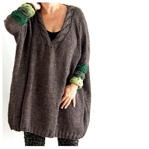 Super Comfy Oversized Sweater. by munamiu on Etsy, $117.00