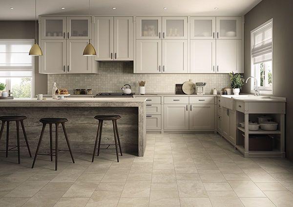 off white kitchen floor tile google