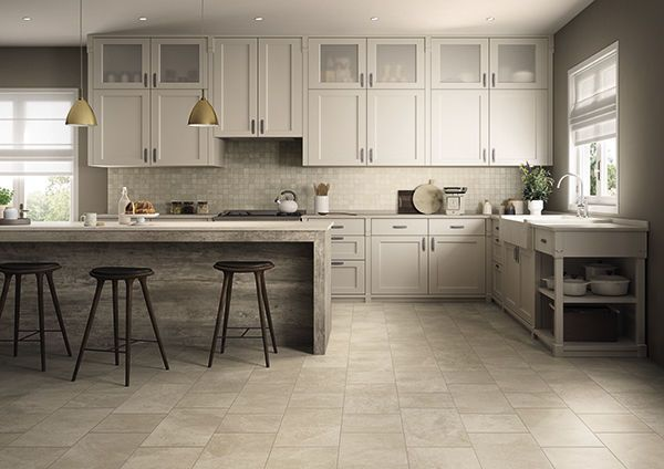 Off White Kitchen Floor Tile Google Search Kitchen Flooring