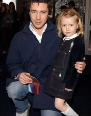 Photo of Aidan Gillen  & his  Daughter  Berry Murphy