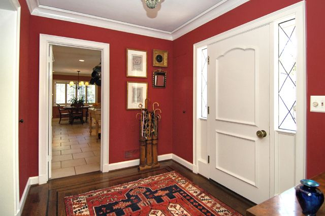 Red Entryway