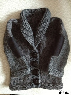great gift....knit a grandpa sweater for a little one...wise beyond his years