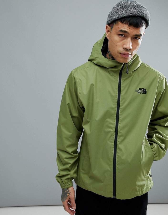 The North Face Quest Jacket Waterproof Hooded In Green North Face Jacket The North Face Jackets