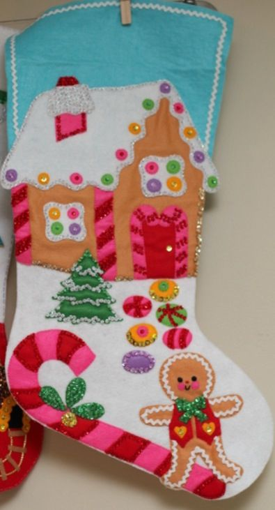 Bucilla Vintage Christmas Stocking