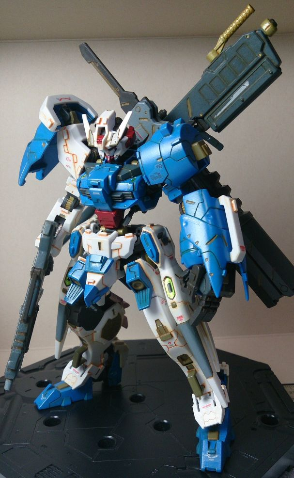 GUNDAM GUY: HG 1/144 Gundam Astaroth - Customized Build