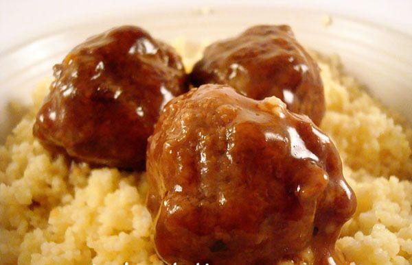 Teriyaki Meatballs- favorite teriyaki sauce recipe (still use my own turkey meatball recipe)