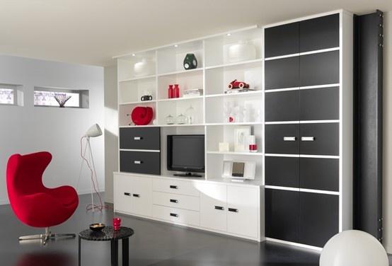 Modèle Black & White - Vue 1