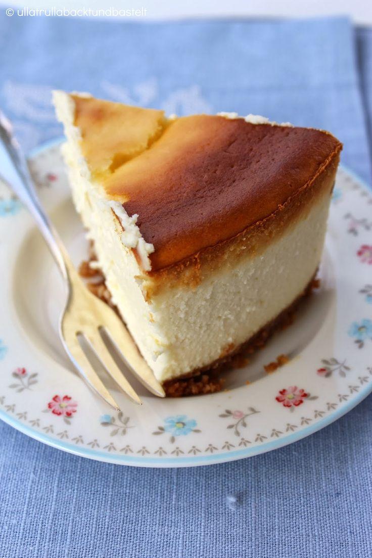 ullatrulla backt und bastelt: Verrückt nach Käsekuchen   Rezept für American Cheesecake