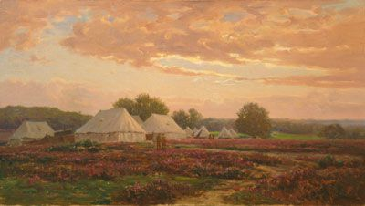 Army Camp in the New Forest 1918