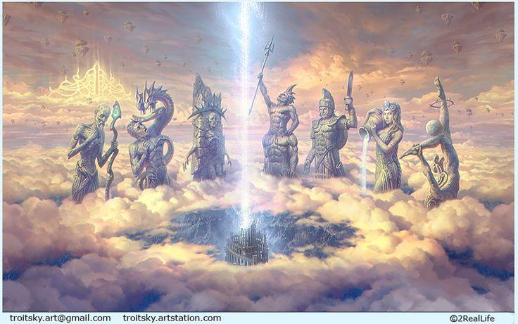 """Babylon""(upper part) by Ivan Troitsky | Illustration | 2D | CGSociety"