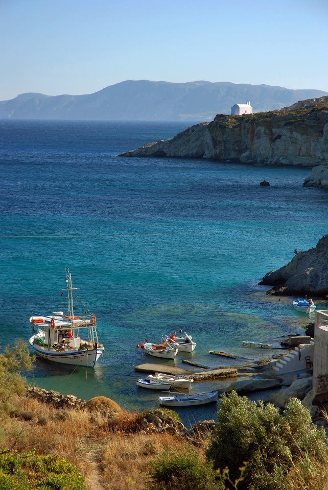 Kimolos island, Cyclades, Greece