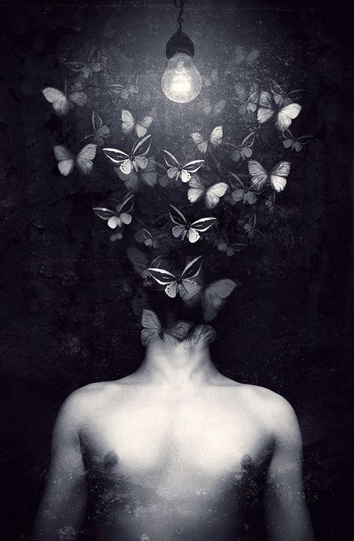 that moment when the butterfly in your stomach burst through your head