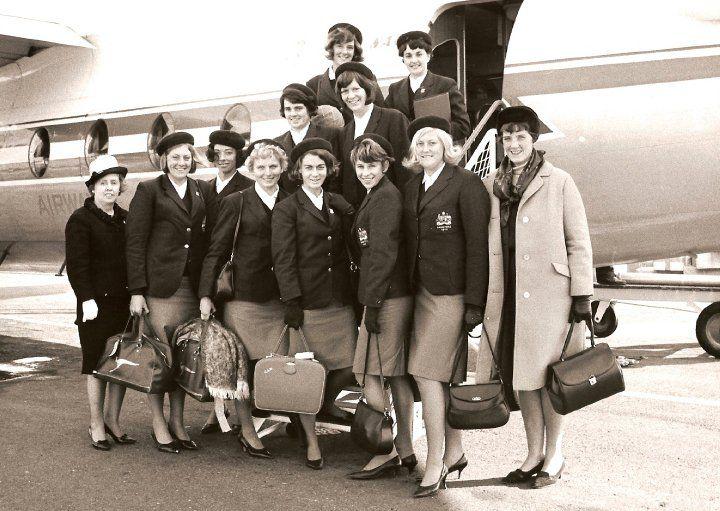 Australian Netball Team 1966