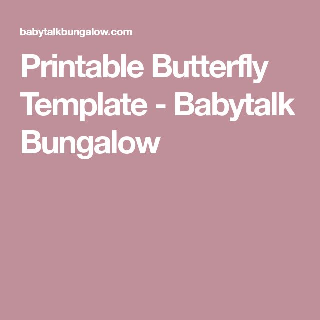 The 25+ best Butterfly template ideas on Pinterest Butterfly - butterfly template