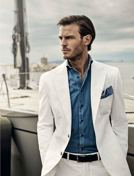 122 best Lookbook   White Menswear images on Pinterest   Men's ...