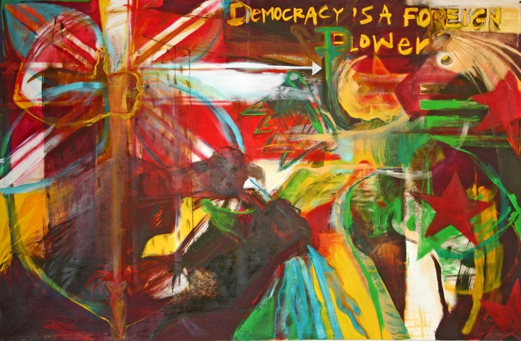 """Lily Laita """"Democracy is a Foreign Power?"""""""