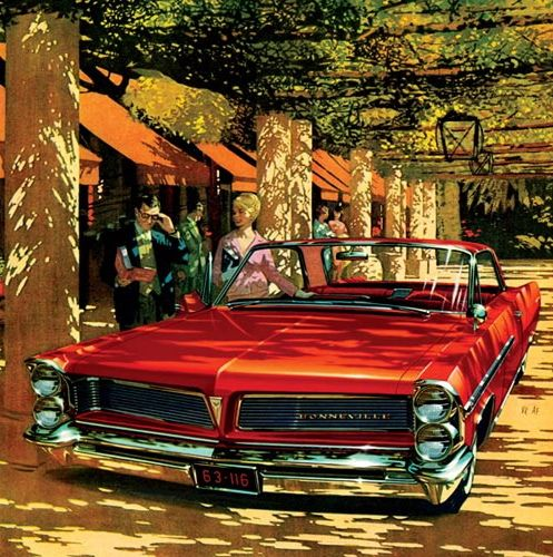 Image result for pontiac artwork 1960s