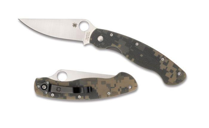 Spyderco Military Digicam G-10 - Kewl.