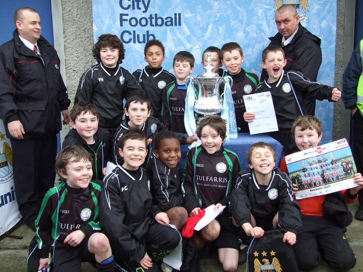 Blessington FC U11s meet Man City FC