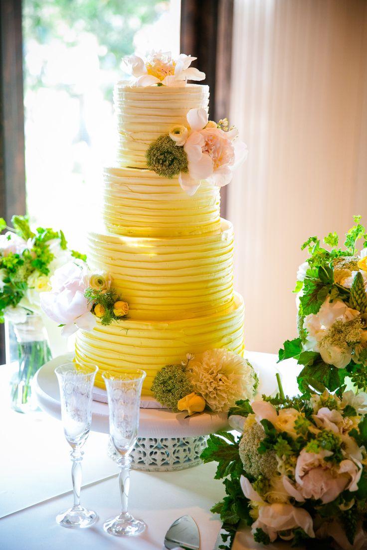 Yellow Hombre Cake