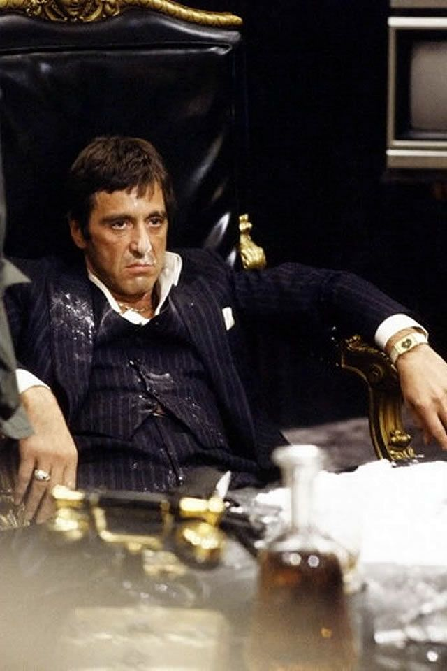 "37 Best ""Say Hello To My Little Friend"" Scarface Images On"