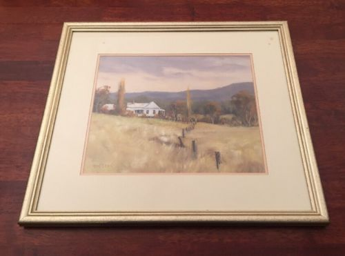 Original-Oil-On-Board-Painting-by-Ian-Lean-Glenreagh-Cottage