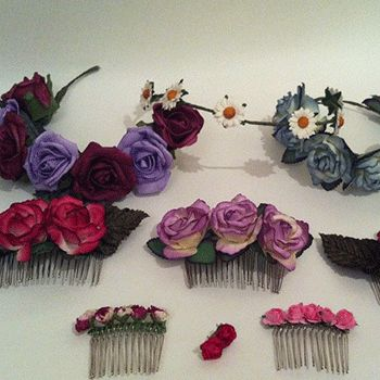 Flowers in hair for all hen party attendees instead of badges, tshirts etc. Too boho / hipster?